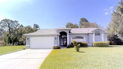 Spring Hill Single Family Home For Sale: 1077 Rudolph Court