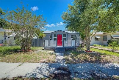 St Petersburg Single Family Home For Sale: 2527 14th Avenue N