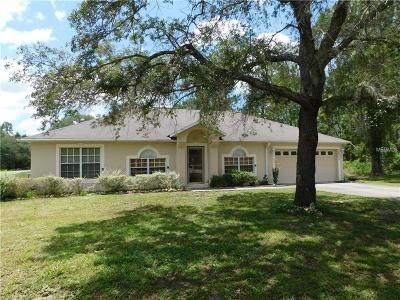 Weeki Wachee Single Family Home For Sale: 12345 Indigo Bunting Road