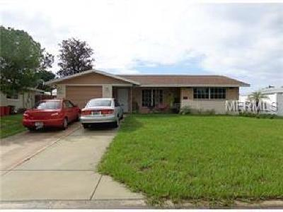 Port Richey Single Family Home For Sale: 7924 Mimosa Drive