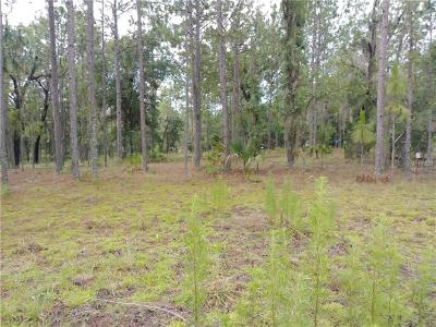 Levy County Residential Lots & Land For Sale: 0000 SE 59th Place