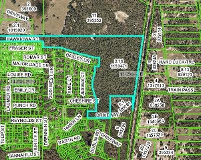 Hernando County Commercial For Sale: E87 Treiman Boulevard
