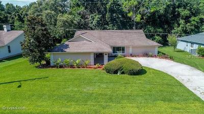 Homosassa Single Family Home For Sale: 17 Pine Street