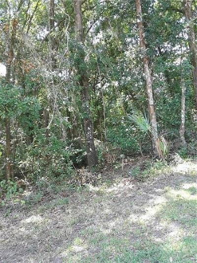 Hernando Residential Lots & Land For Sale: 4482 E Islet Court