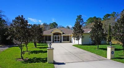 Weeki Wachee Single Family Home For Sale: 12105 Harris Hawk Road