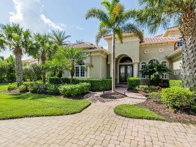 Sarasota, Bradenton Single Family Home For Sale: 3408 Founders Club Drive