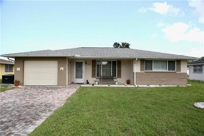 Port Richey Single Family Home For Sale: 7827 Kelpie Drive