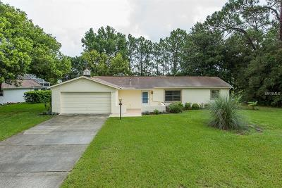 Spring Hill FL Single Family Home For Sale: $159,900