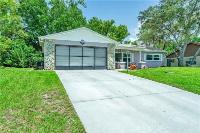 Spring Hill Single Family Home For Sale: 288 Killinger Avenue