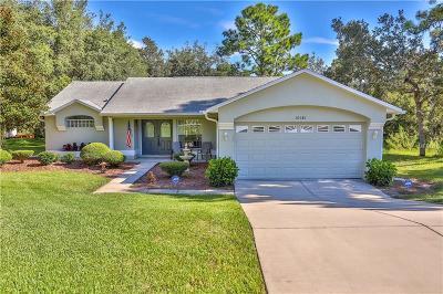 Weeki Wachee Single Family Home For Sale: 10381 Canyon Pond Court
