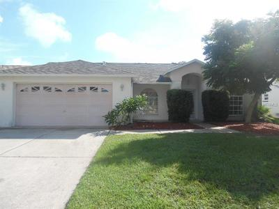 New Port Richey Single Family Home For Sale: 7608 Sequoia Drive