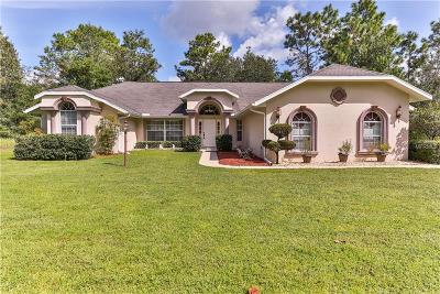 Beverly Hills, Citrus Hills, Citrus Springs, Crystal River, Dunnellon, Floral City, Hernando, Homassa, Homosassa, Inverness, Lecanto, Port Charlotte Single Family Home For Sale: 4926 N Mapleview Way