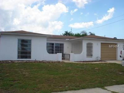Port Richey Single Family Home For Sale: 8124 Monarch Drive