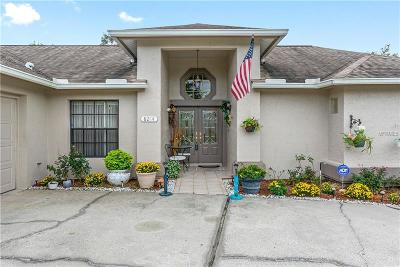 Spring Hill, Spring Hill(pasco), Springhill Single Family Home For Sale: 8214 Rhanbuoy Road