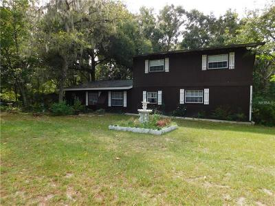 Brooksville Single Family Home For Sale: 14392 Tranquility Lane