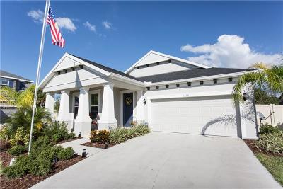 Tarpon Springs Single Family Home For Sale: 1210 Windy Bay Shoal