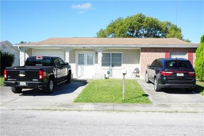 Holiday Single Family Home For Sale: 1427 Yale Drive