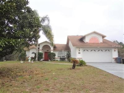 Spring Hill Single Family Home For Sale: 18102 Sand Pine Drive