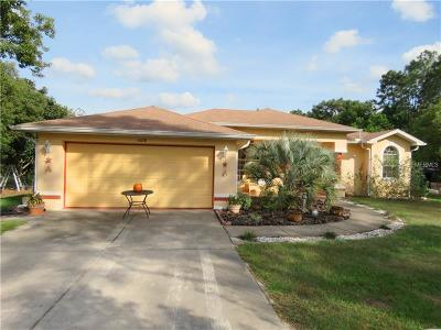 Hernando County Single Family Home For Sale: 6018 Golddust Road