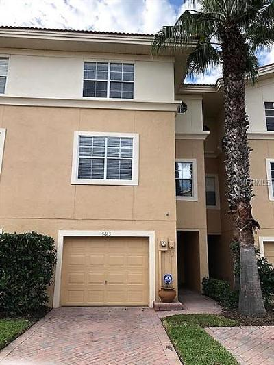 New Port Richey Townhouse For Sale: 5613 Red Snapper Court