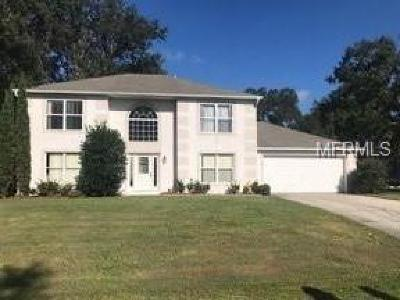 Spring Hill Single Family Home For Sale: 8383 Gallup Road
