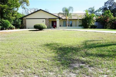 Tarpon Spring, Tarpon Springs Single Family Home For Sale: 1113 Carlton Road