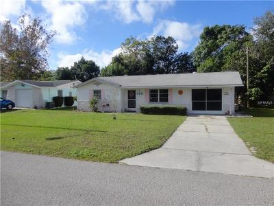 Hernando County Single Family Home For Sale: 4117 Redwing Drive