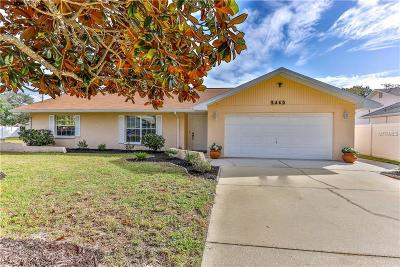 Spring Hill Single Family Home For Sale: 3460 Tomahawk Avenue