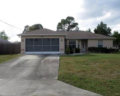 Spring Hill Single Family Home For Sale: 3329 Morven Drive