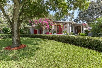 Cleasrwater, Clearwater, Clearwater` Single Family Home For Sale: 1007 Palm Terrace Drive