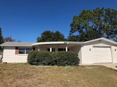 New Port Richey Single Family Home For Sale: 6027 7th Avenue