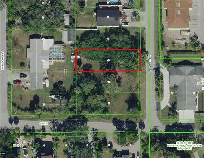 New Port Richey Residential Lots & Land For Sale: 6313 Oelsner Street