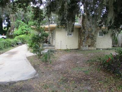 Port Richey Single Family Home For Sale: 7545 Pier Road