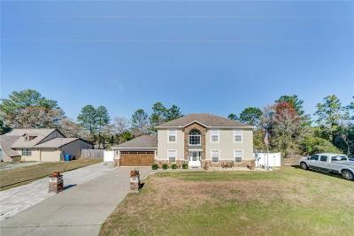 Hernando County Single Family Home For Sale: 4606 Gondolier Road