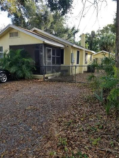 Hillsborough County Single Family Home For Sale: 1707 E Ellicott Street