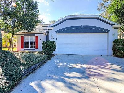 Tarpon Springs Single Family Home For Sale: 1734 Hunter Lane
