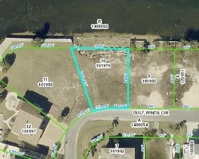 Hernando Beach Residential Lots & Land For Sale: 3387 Gulf Winds Circle