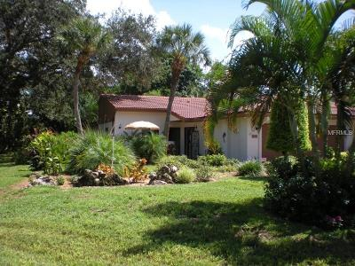 Bradenton Villa For Sale: 6402 Wood Owl Circle