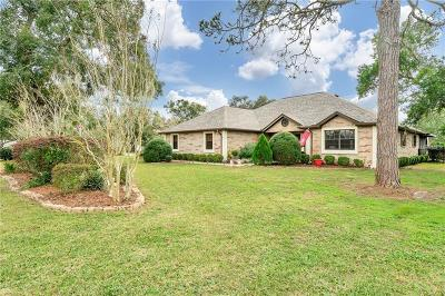 Ridge Manor Single Family Home For Sale: 5575 Fairway Drive