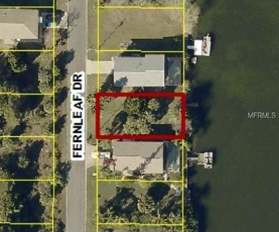 Hernando Beach Residential Lots & Land For Sale: 3344 Fernleaf Drive