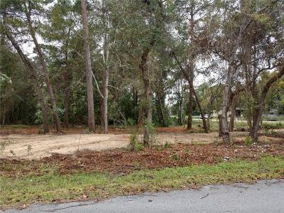Weeki Wachee Residential Lots & Land For Sale: 0 Pacific Avenue