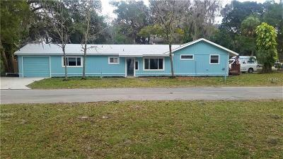Port Richey Single Family Home For Sale: 5647 River Gulf Road