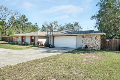 Spring Hill Single Family Home For Sale: 2364 Lema Drive