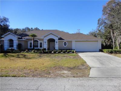 Weeki Wachee FL Single Family Home For Sale: $293,000