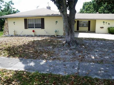 Spring Hill Single Family Home For Sale: 9408 River Road