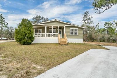 Weeki Wachee Mobile/Manufactured For Sale: 11007 Knuckey Road