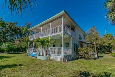 Tarpon Springs Single Family Home For Sale: 1891 Wacassassa Street