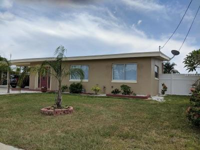 Port Charlotte Single Family Home For Sale: 21805 Edgewater Drive