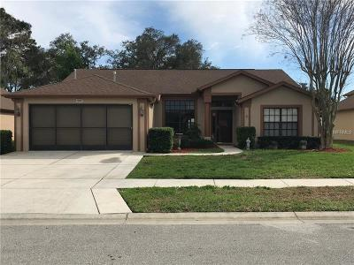 Pasco County Single Family Home For Sale: 13607 Pimberton Drive #4