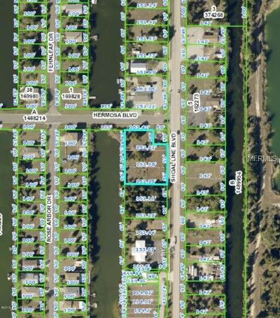 Hernando Beach Residential Lots & Land For Sale: 0 Shoal Line Boulevard